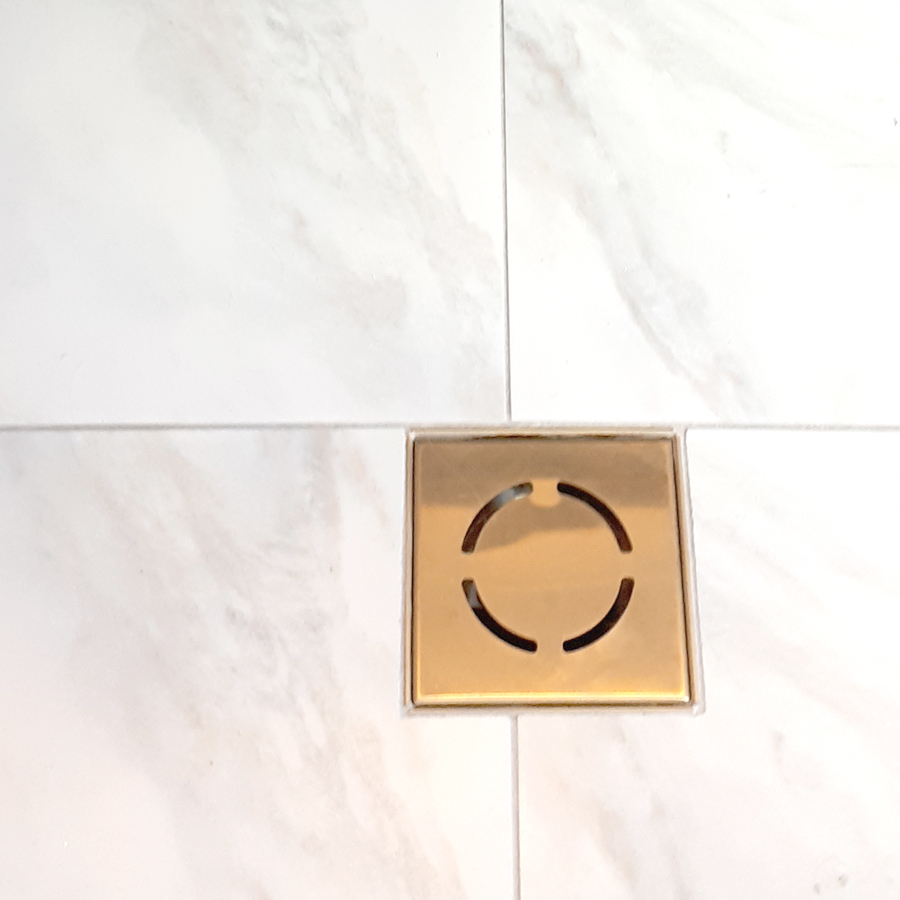 Brass Bathroom Drain