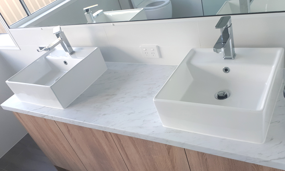 Double Basin Custom Vanity Unit