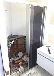 Shower Demolition