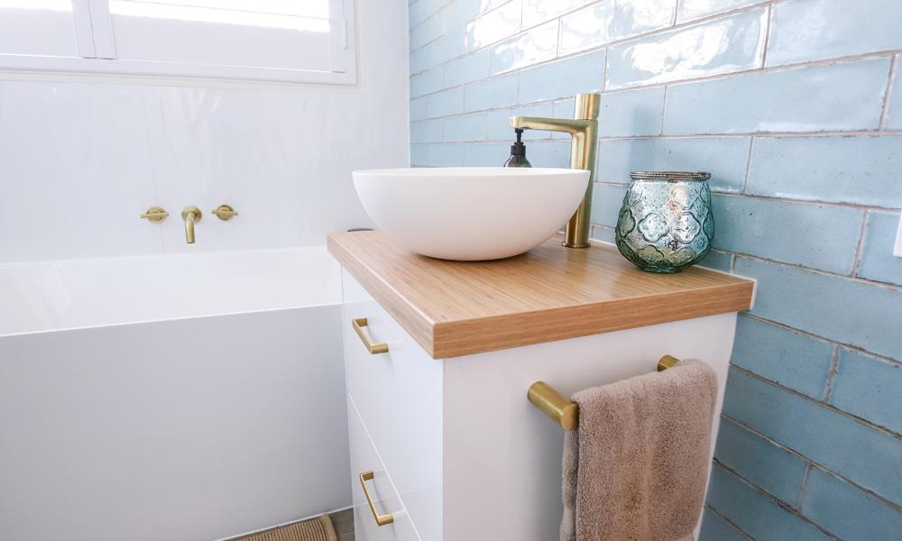Bathroom Feature Tiling