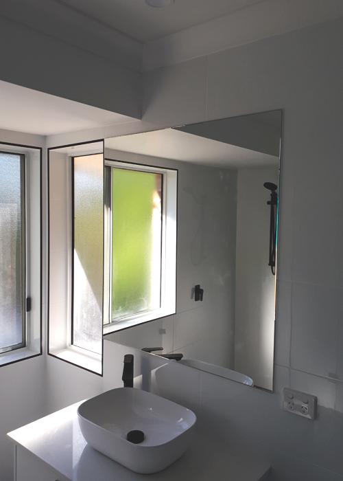 Natural Bathroom Light