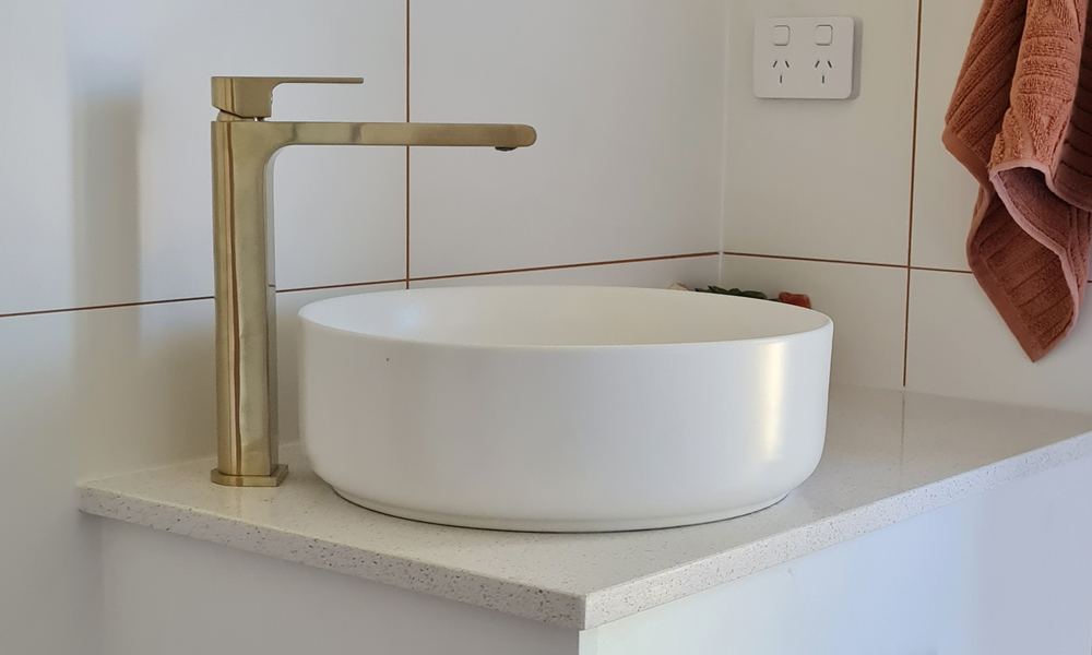 Brushed Brass Bathroom Style