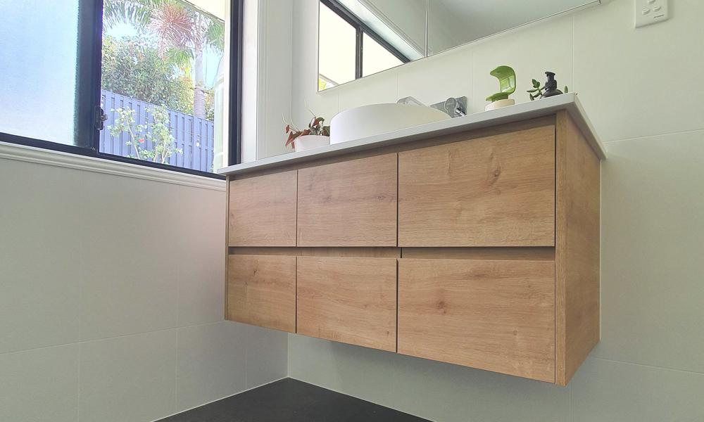 Custom Timber Laminate Vanity