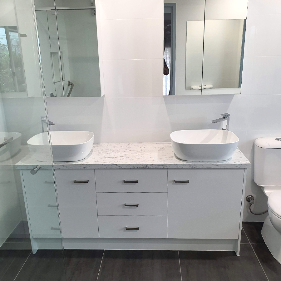 Custom Vanity Bathroom Renovation