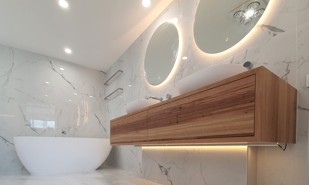 Marble Tiled Opulent Bathroom Renovation