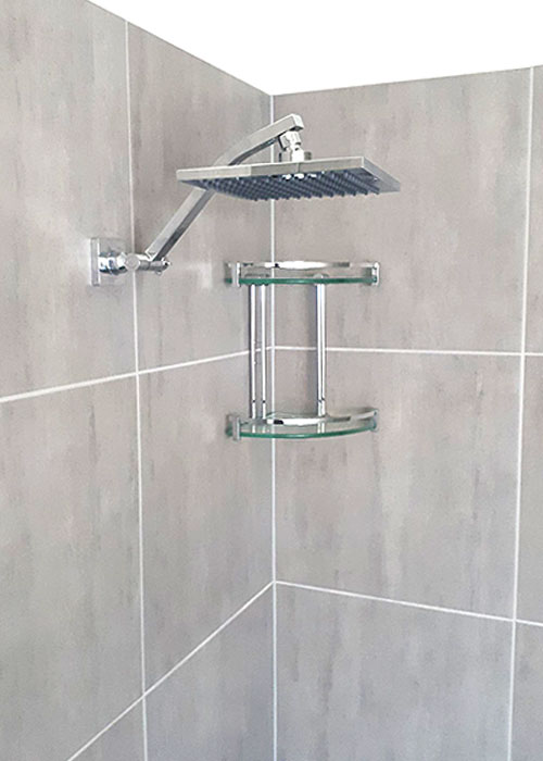 Square Block Rain Shower