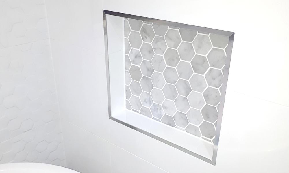 Tiled Bathroom Niches