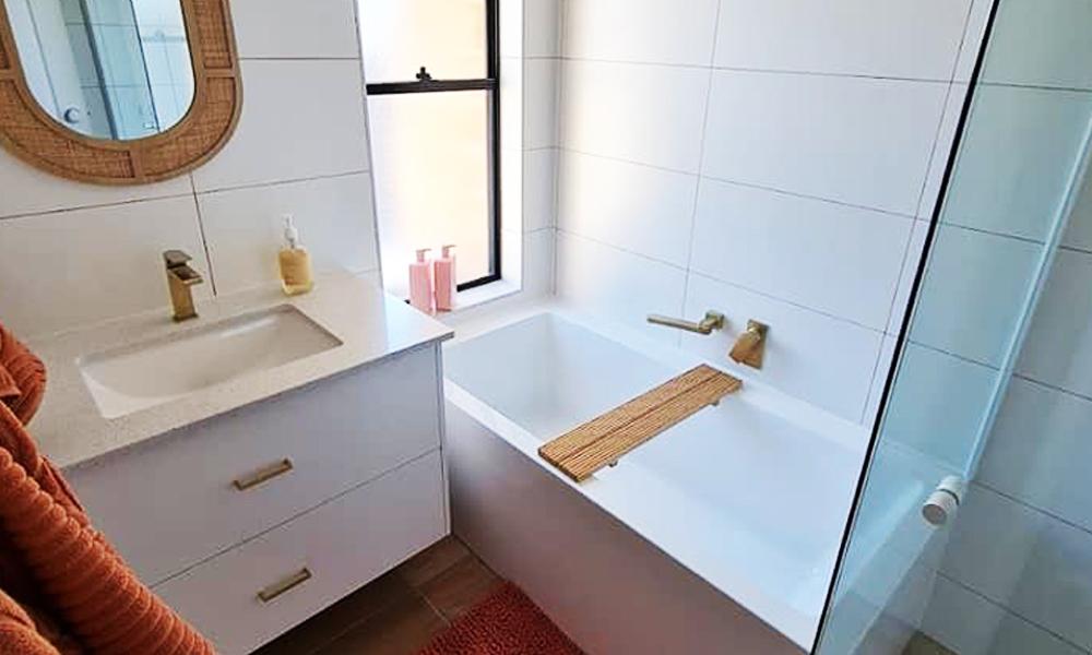 Warm Inviting Bathroom Renovation